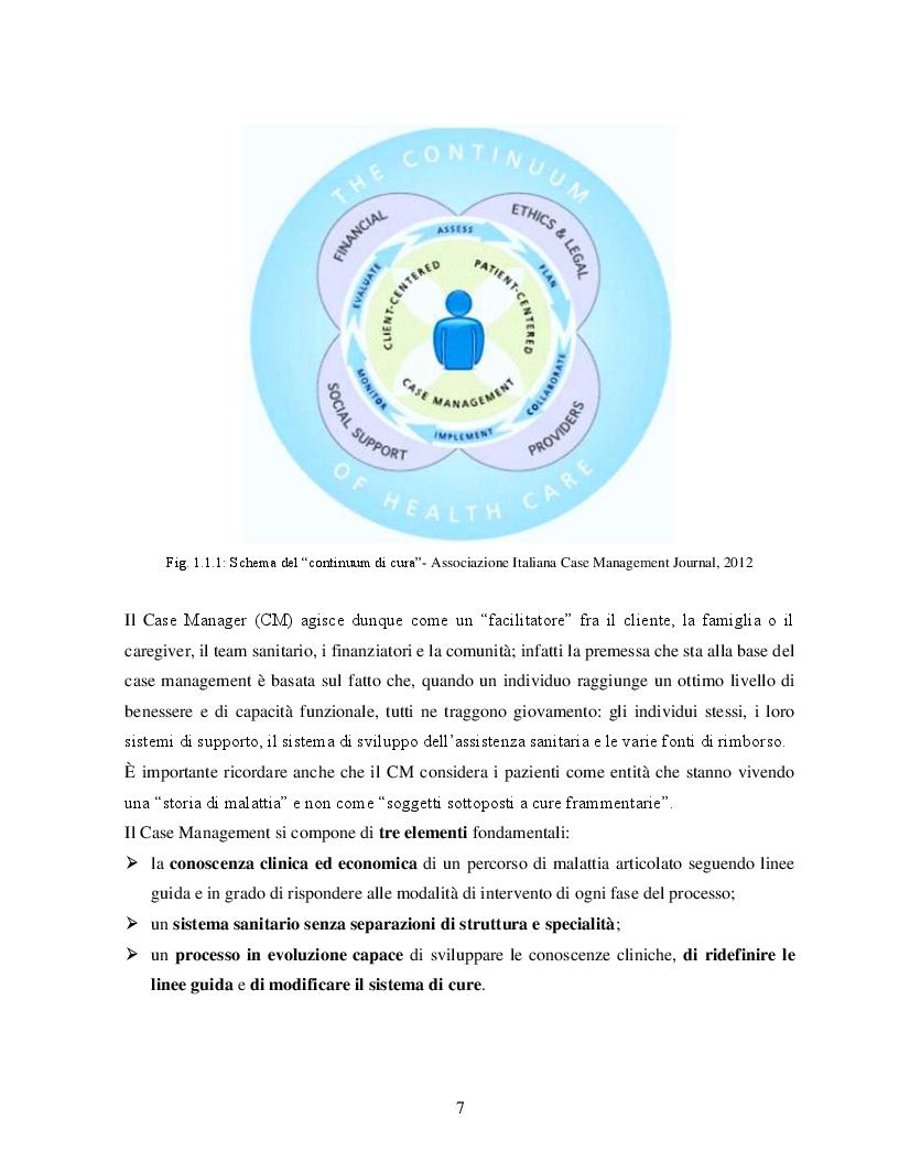 Anteprima della tesi: Case Management e Scompenso Cardiaco: l'esperienza bolognese del Policlinico S.Orsola - Mapighi, Pagina 3