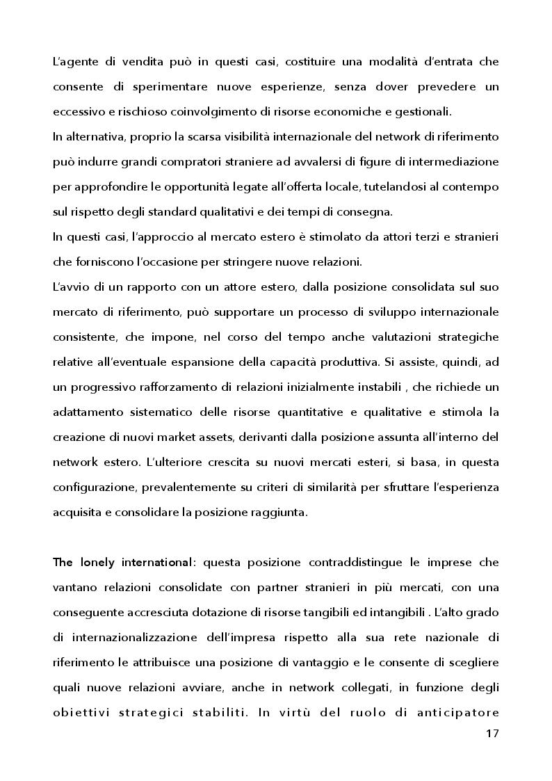Estratto dalla tesi: Strategie di marketing e comunicazione nel processo di internazionalizzazione