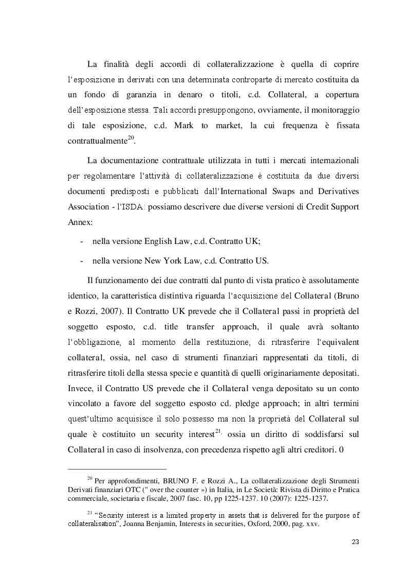 Estratto dalla tesi: Cartolarizzazione dei prestiti alle PMI e Politiche Pubbliche: l'esperienza del Fondo Tranched Cover della Regione Puglia