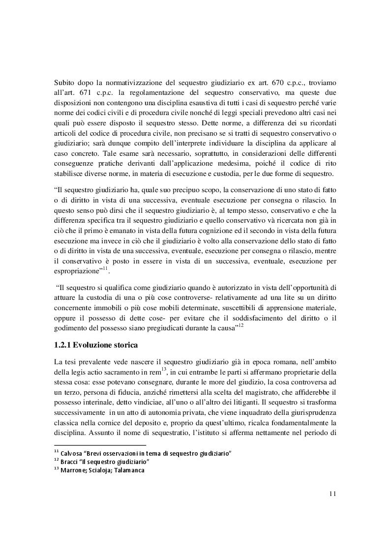Estratto dalla tesi: Misure Cautelari Reali: tra processo civile e processo penale