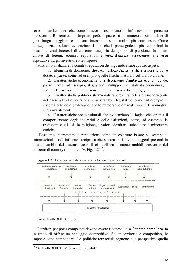 """Estratto dalla tesi: Il ruolo degli eventi nelle strategie di marketing territoriale. L'evento """"Luci d'Artista"""" di Salerno."""