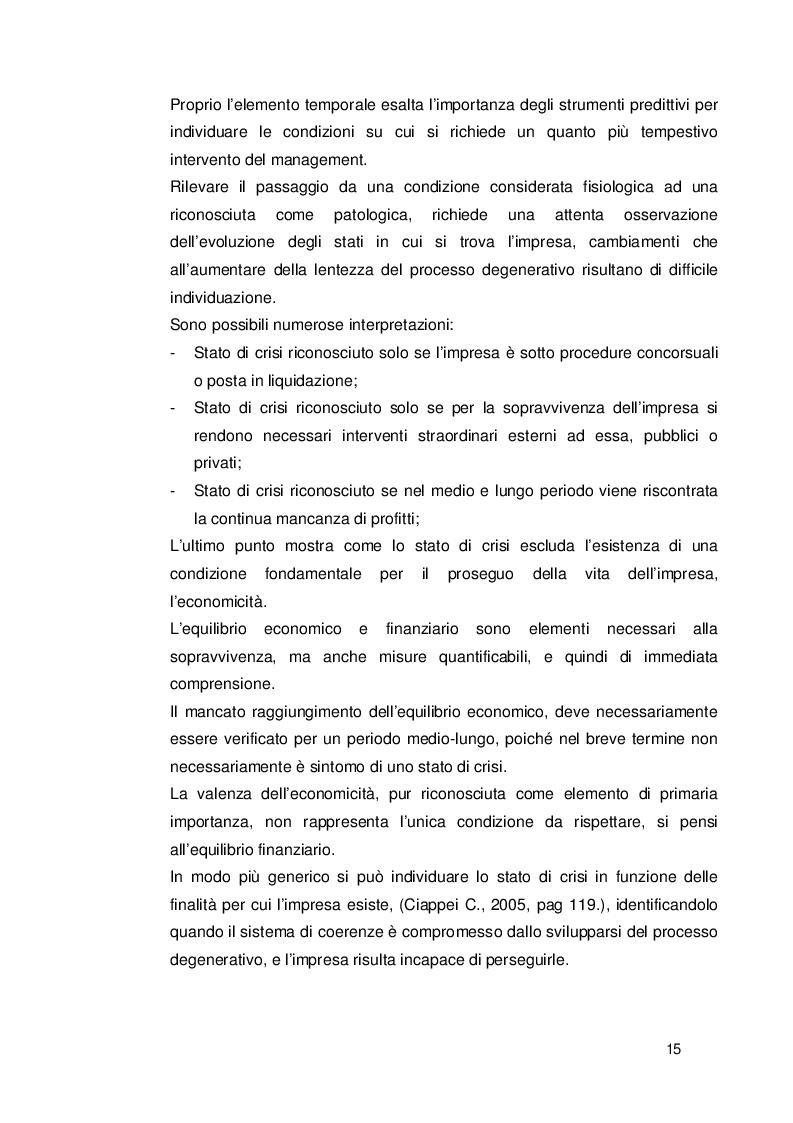 Estratto dalla tesi: Applicazione dell'analisi discriminante alle previsioni di insolvenza. Una analisi per il settore imprese tessili.