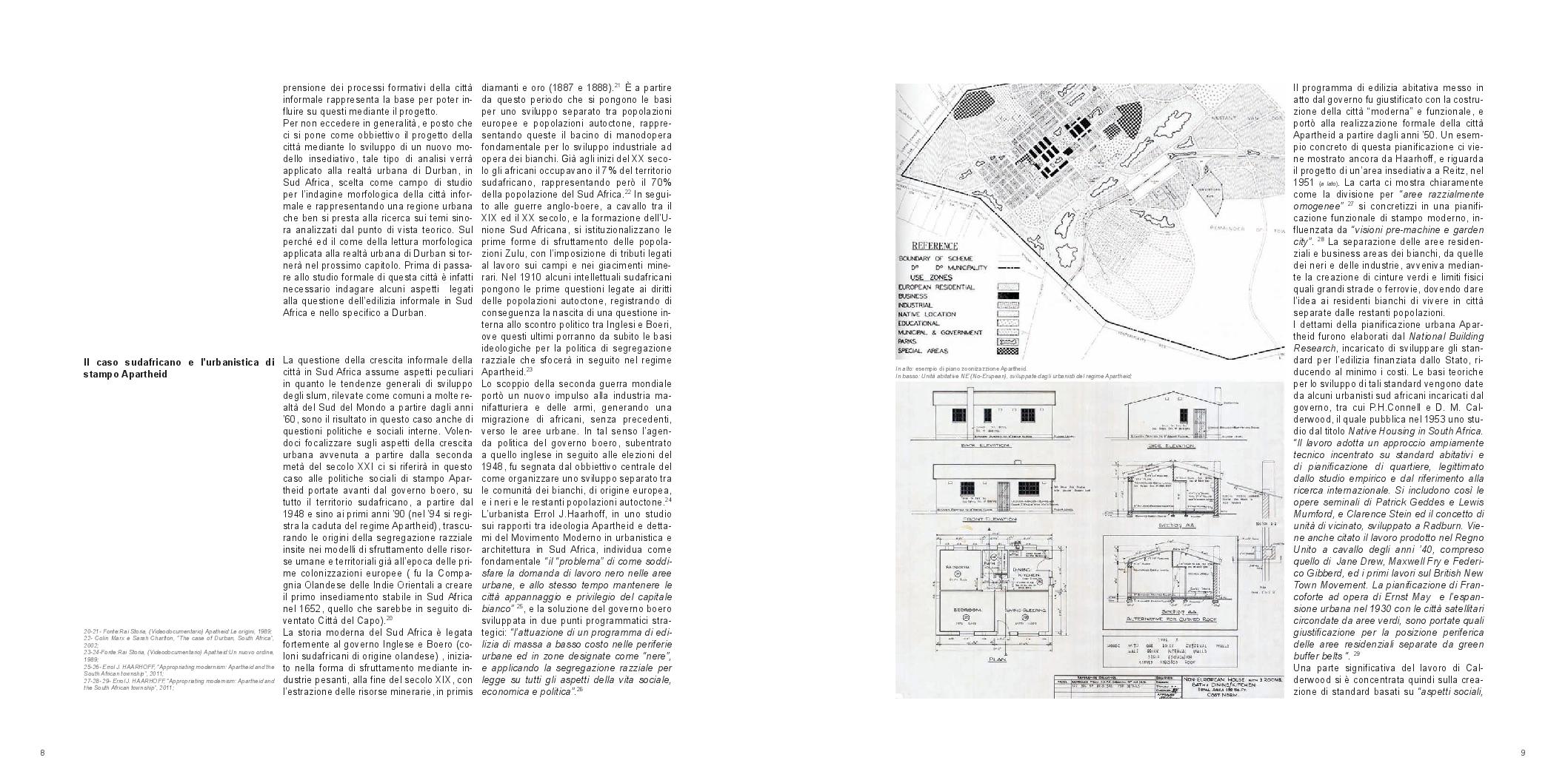 Estratto dalla tesi: Durban: la città marginale. Morfogenesi di un modello insediativo