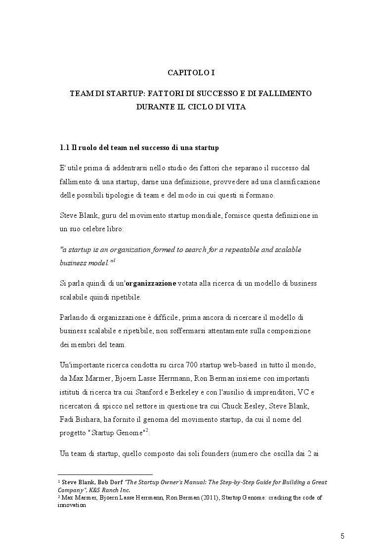Team Building e Serious Play: uno studio delle applicazioni ai team di startup - Tesi di Laurea