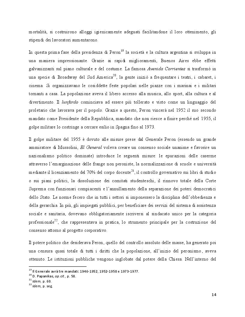 Estratto dalla tesi: L'iconografia del Tango danza. La catalogazione e l'analisi storico-critica delle fotografie a soggetto di tango dell'Archivo General de la Nación di Buenos Aires
