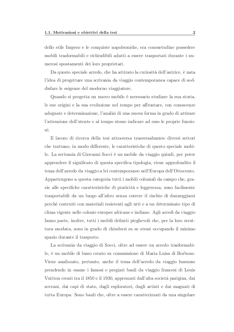 Estratto dalla tesi: L'arredo in viaggio - L'evoluzione dei mobili trasformabili nel corso dei secoli