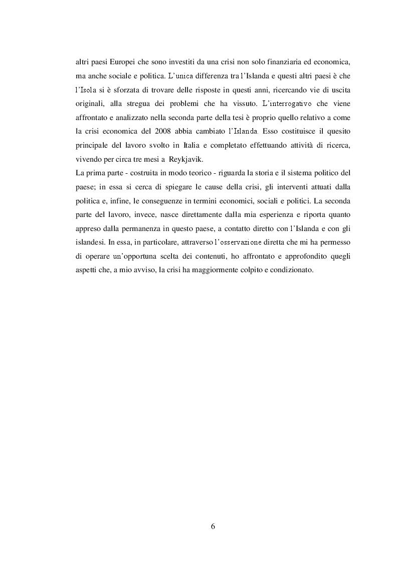 Anteprima della tesi: La Repubblica d'Islanda: la crisi economica e le sue conseguenze, Pagina 3