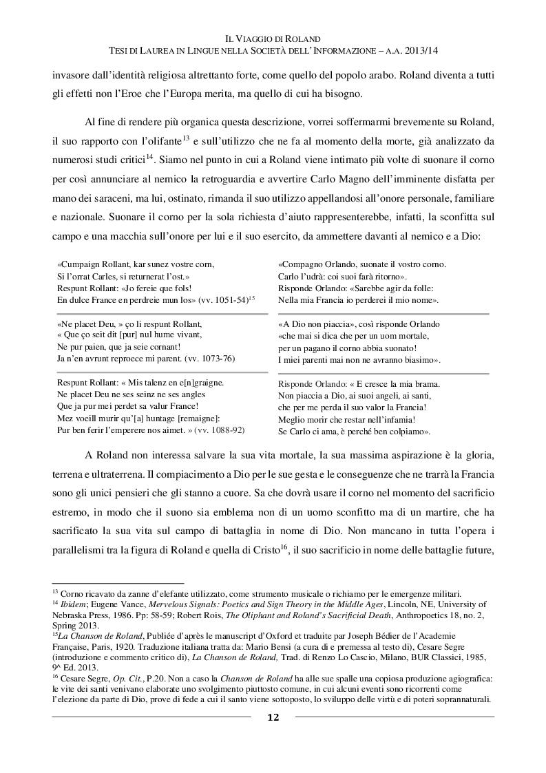 Estratto dalla tesi: Il viaggio di Roland - Un Cavaliere, un Corno, una Torre: l'evoluzione di un Eroe letterario dal Medioevo a Robert Browning fino a Stephen King
