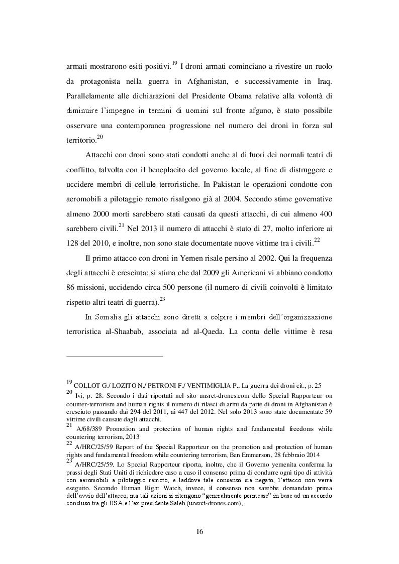 Estratto dalla tesi: L'uso dei droni nel diritto internazionale