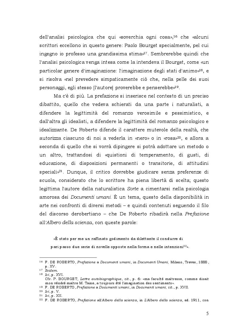 Estratto dalla tesi: Paul Bourget e Federico De Roberto: ricostruzione dei rapporti biografici e affinità caratteriali