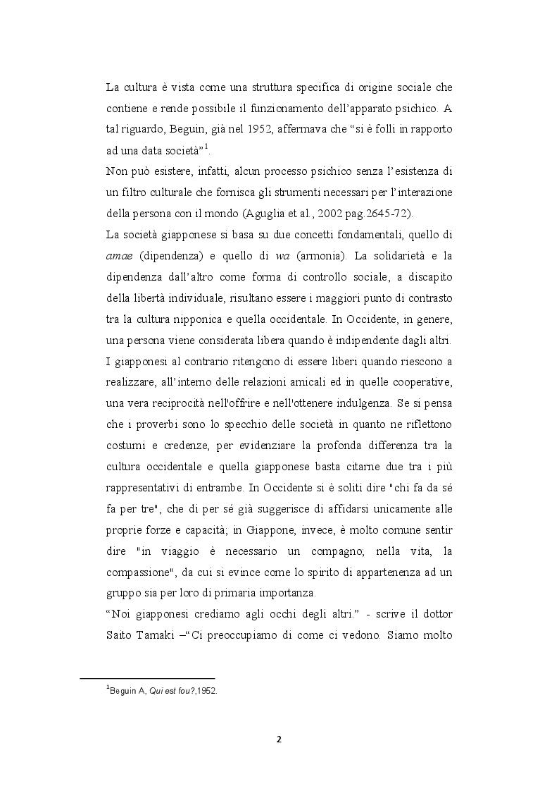 Anteprima della tesi: Hikikomori, dal Giappone all'Italia, Pagina 3
