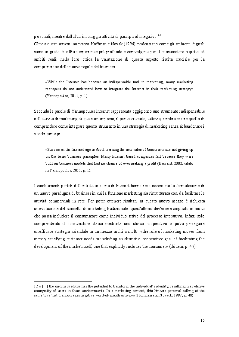 Estratto dalla tesi: Tecniche, strumenti e strategie per il Web Marketing: il caso Alenis Italia S.r.l