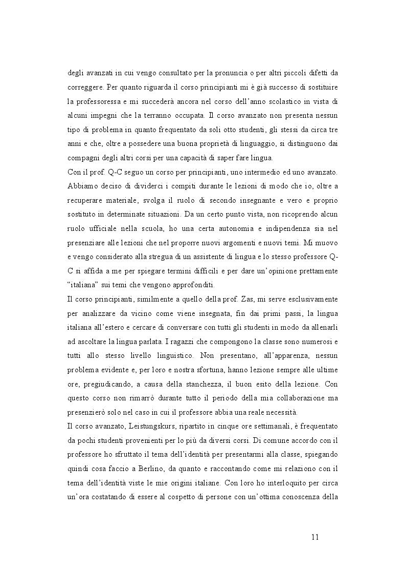 Estratto dalla tesi: I vari percorsi della lingua italiana nella scuola dell'obbligo tedesca