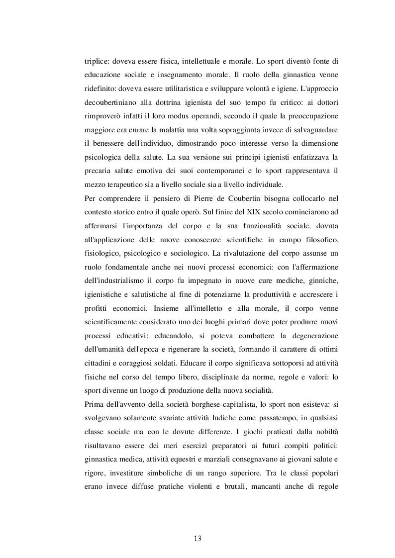 Estratto dalla tesi: Sport e Relazioni Internazionali: l'impegno dell'ONU e del CIO per la tutela dei diritti umani