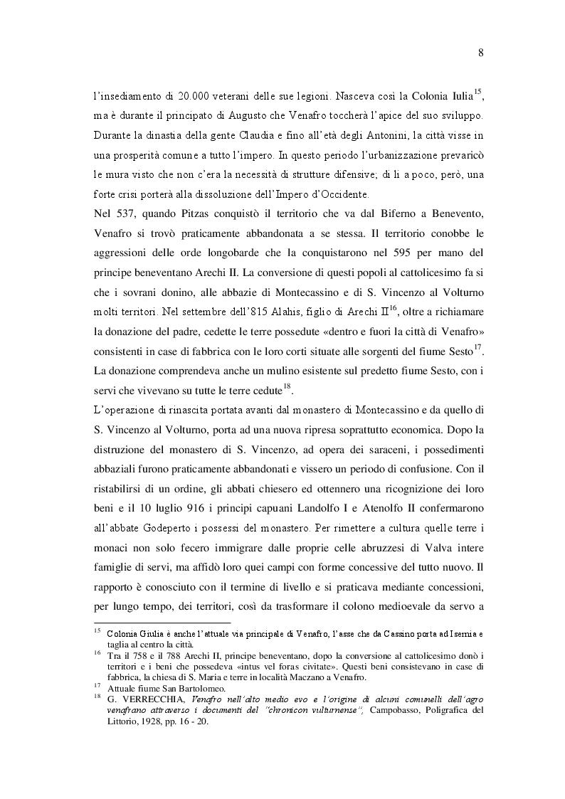 Estratto dalla tesi: Archeologia, storia e promozione turistica di un bene culturale: il mulino e centrale idroelettrica ''Della Corte'' di Venafro