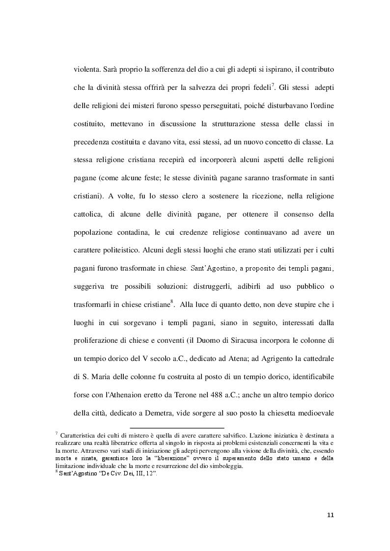 Estratto dalla tesi: La diffusione del Cristianesimo e i primi spazi di culto a Catania