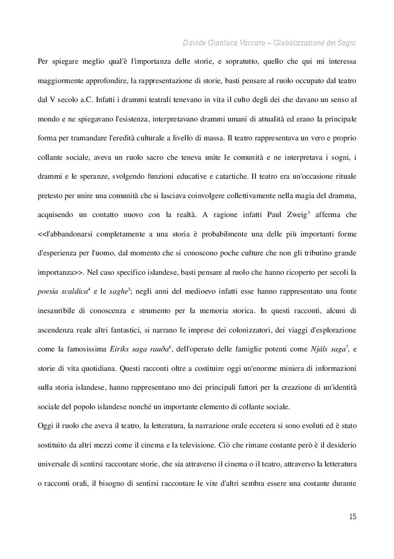Estratto dalla tesi: Globalizzazione dei sogni - La ricezione transculturale dell'opera prima di Dagur Kári