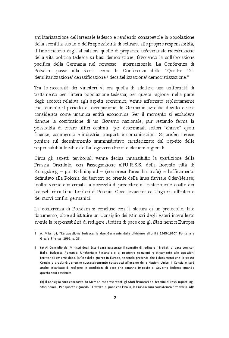 Estratto dalla tesi: L'inizio della Guerra Fredda: l'opinione pubblica italiana di fronte al blocco di Berlino (1948-1949)
