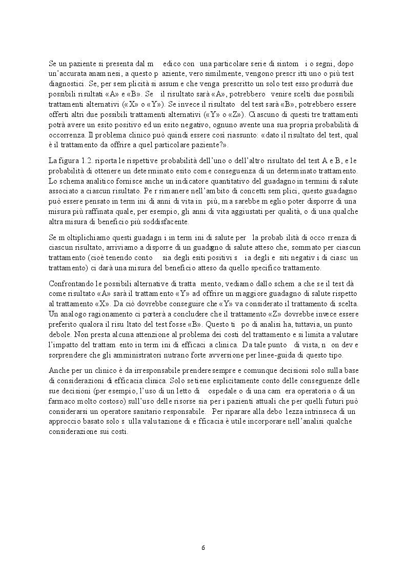 Estratto dalla tesi: Appropriatezza clinica, organizzativa e prescrittiva farmacologica - Studio osservazionale