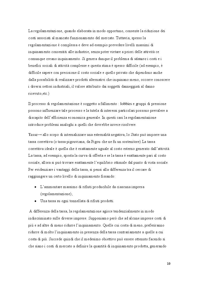 Estratto dalla tesi: Analisi delle esternalità negative. Il caso diossina di Seveso