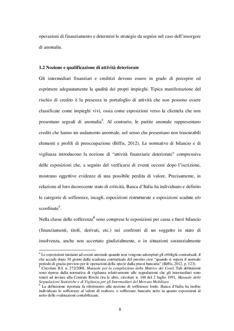 Estratto dalla tesi: I crediti non performing verso il bad banking. Il caso UniCredit Group.