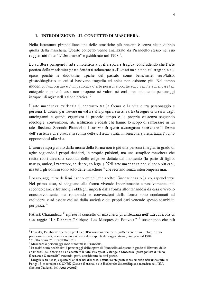 Ethos e Discorso Politico: il caso di Silvio Berlusconi e di Nicolas Sarkozy - Tesi di Laurea