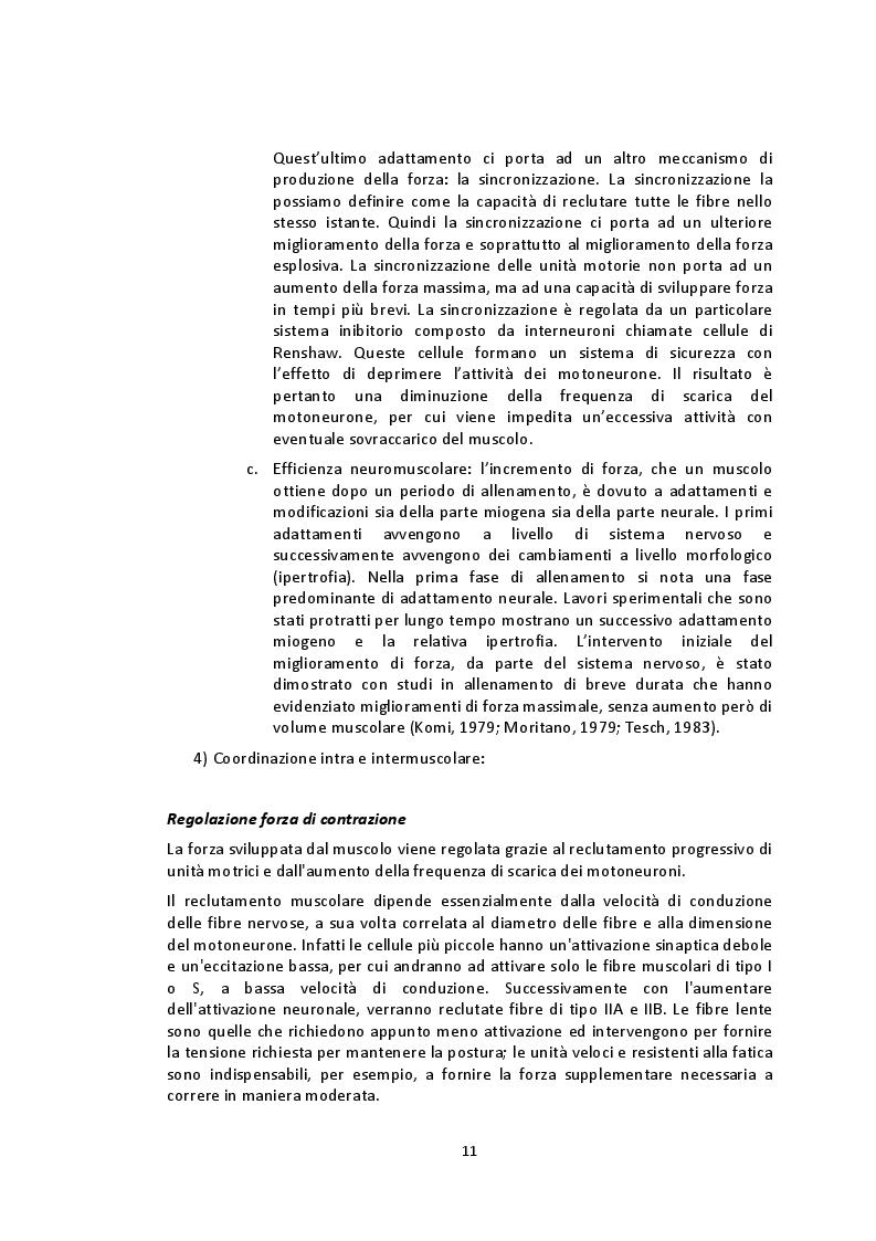 Estratto dalla tesi: Analisi del Bilateral Deficit e della percezione dello sforzo durante contrazioni muscolari isocinetiche degli arti inferiori