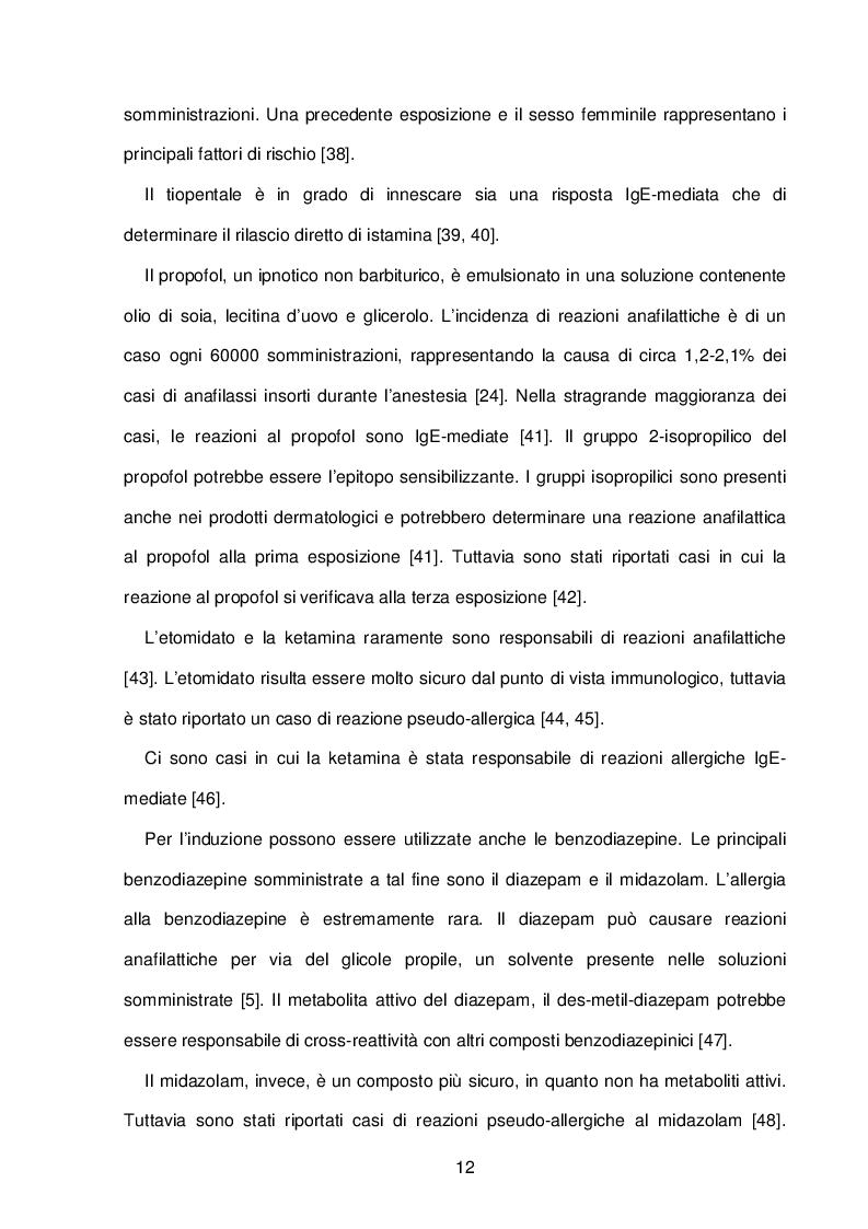 Estratto dalla tesi: Utilizzo dei glucocorticoidi nella profilassi pre-operatoria del paziente che deve sottoporsi ad anestesia