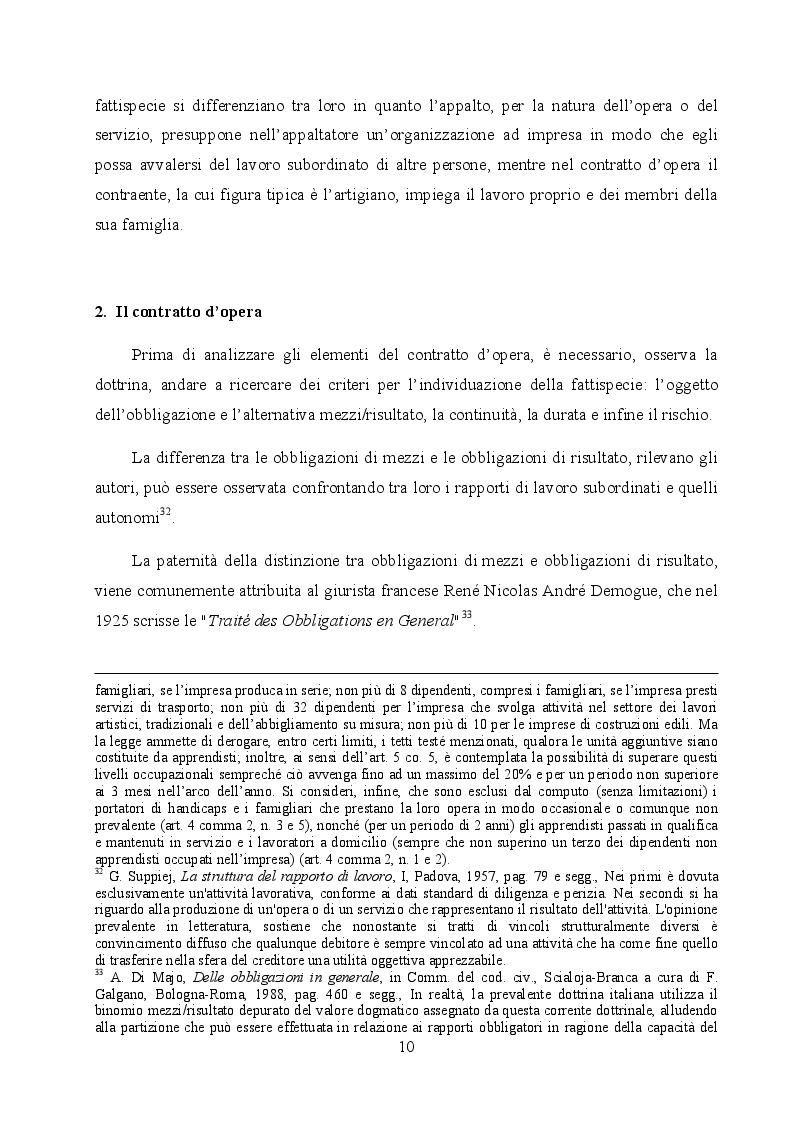 Estratto dalla tesi: La disciplina del rapporto di lavoro c.d. ''a partita I.V.A.'' alla luce della legge n.92\2012