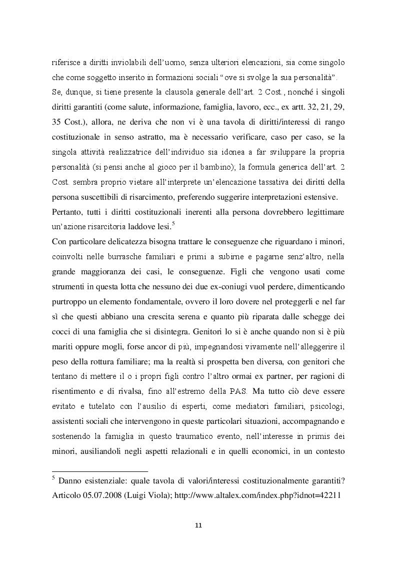 Estratto dalla tesi: L'illecito endofamiliare nella recente evoluzione giurisprudenziale