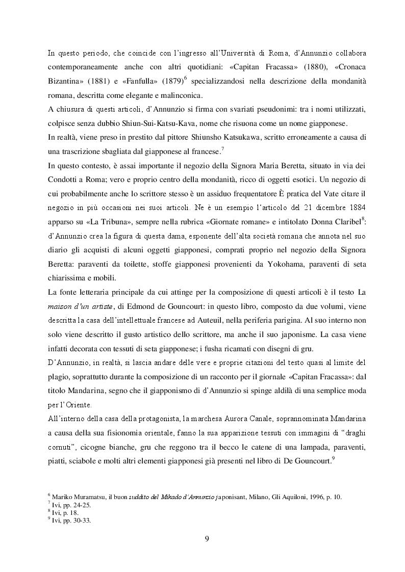 Estratto dalla tesi: Il Giappone visto dai letterati italiani e il caso di Dino Buzzati