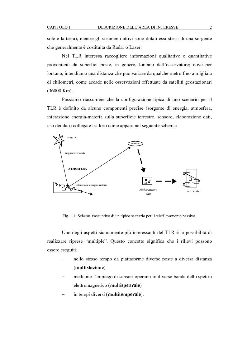 Anteprima della tesi: Correzione geometrica di immagini telerilevate da aereo, Pagina 6