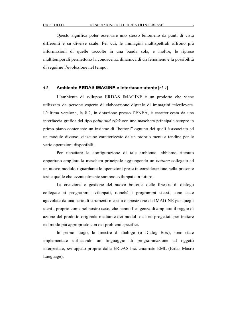 Anteprima della tesi: Correzione geometrica di immagini telerilevate da aereo, Pagina 7