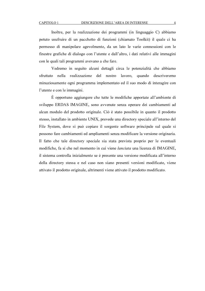 Anteprima della tesi: Correzione geometrica di immagini telerilevate da aereo, Pagina 8