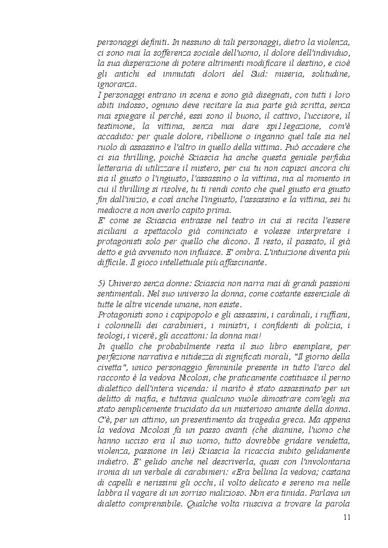 Estratto dalla tesi: Il cuore e la mente della letteratura siciliana sulla mafia: Giuseppe Fava Vs Leonardo Sciascia