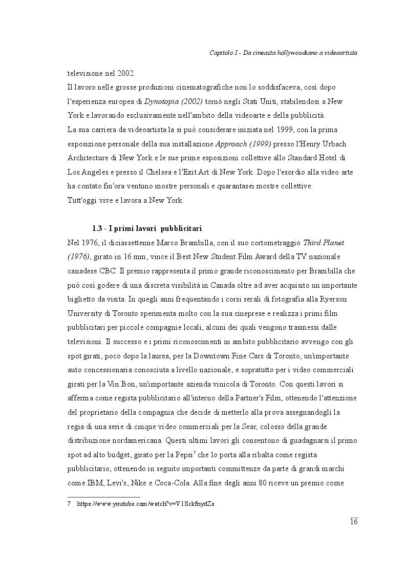 Estratto dalla tesi: La Tela Videocinetica