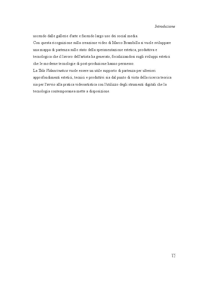 Anteprima della tesi: La Tela Videocinetica, Pagina 6