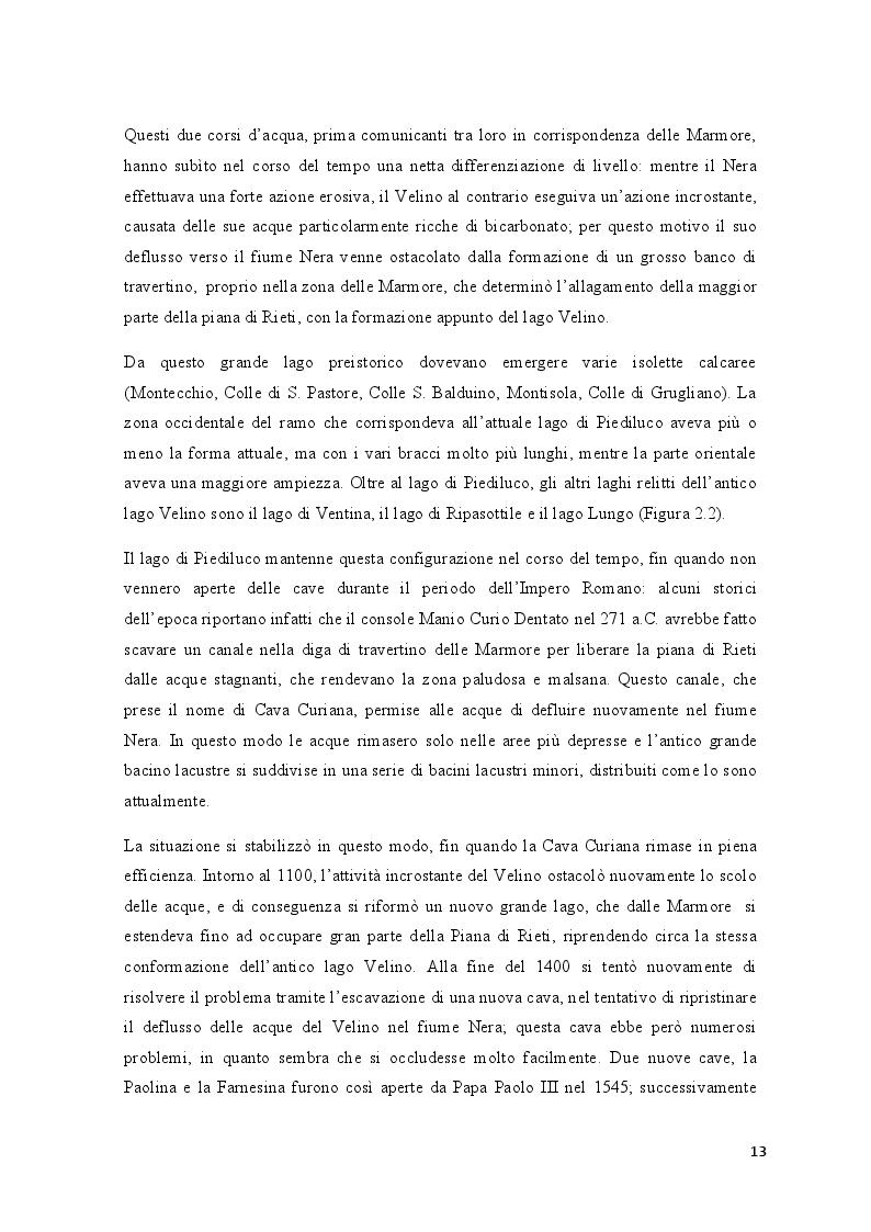 Estratto dalla tesi: Composizione specifica e variazioni spaziali dei macroinvertebrati eulitorali del lago di Piediluco (Italia Centrale) in relazione al tipo di substrato e all'impatto antropico sulle rive