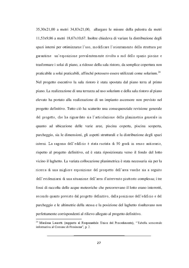 Estratto dalla tesi: Realizzazione del nuovo polo natatorio di Frosinone: dallo studio del progetto alle fasi di montaggio della copertura in legno lamellare