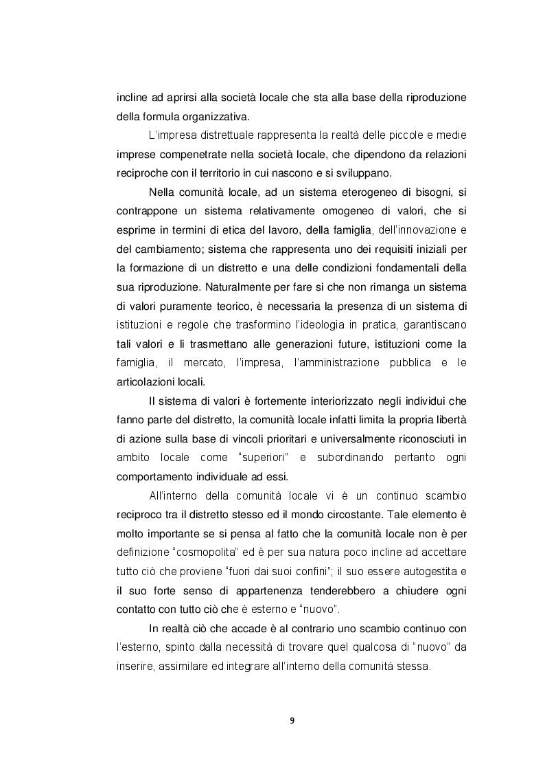 Estratto dalla tesi: L'Italia e i suoi distretti industriali: Il caso del distretto della carta di Capannori - Lucca
