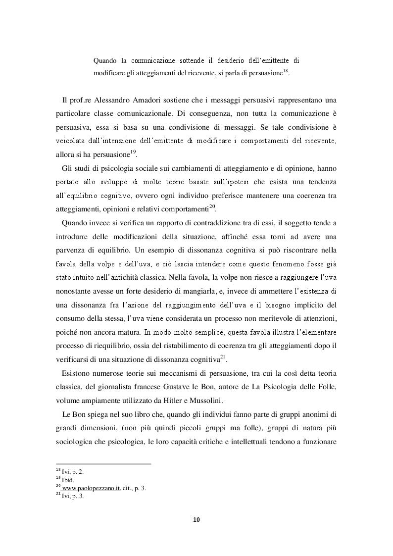 Estratto dalla tesi: La pubblicità come strumento di persuasione, un approccio culturale. Lo stereotipo italiano nella pubblicità spagnola.