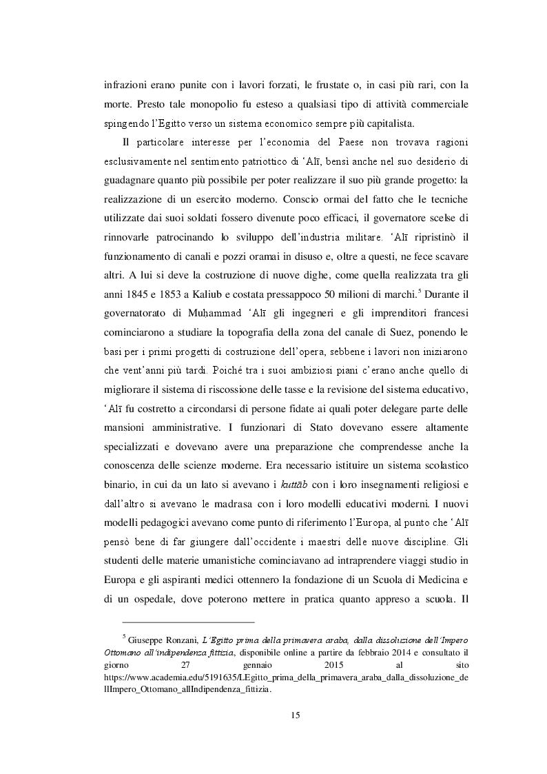Estratto dalla tesi: Il pensiero modernista egiziano negli scritti di Ahmad Amin