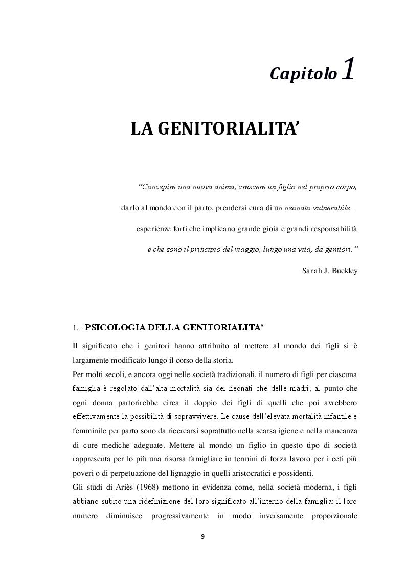Anteprima della tesi: Maternità e bias percettivi: uno studio pilota sulla percezione degli stimoli visivi nelle madri, Pagina 4