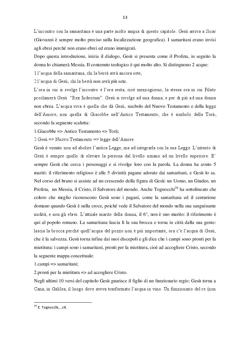 Estratto dalla tesi: L' 'allontanamento' dal giudaismo nel Vangelo giovanneo e nell'epistolario paolino