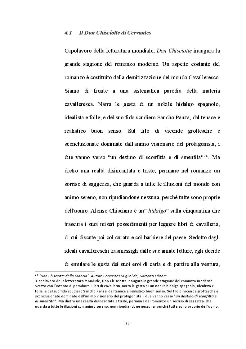 Estratto dalla tesi: Mimmo Paladino, la Transavangardia e Don Chisciotte