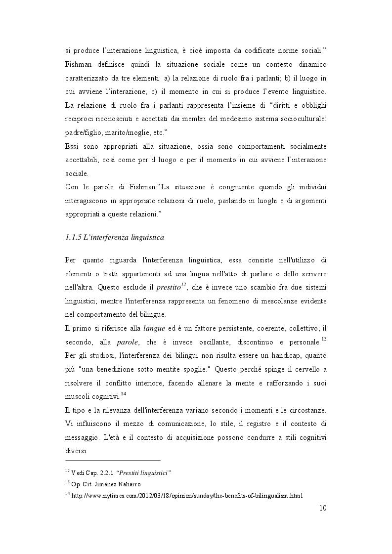 Estratto dalla tesi: Bilinguismo, educazione, società. Riflessioni sull'apprendimento di una L2