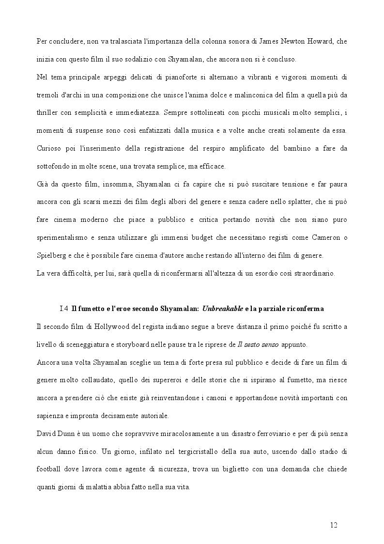 """Estratto dalla tesi: L'accoglienza critica italiana a """"The Village"""" di Manoj Nelliyattu Shyamalan"""