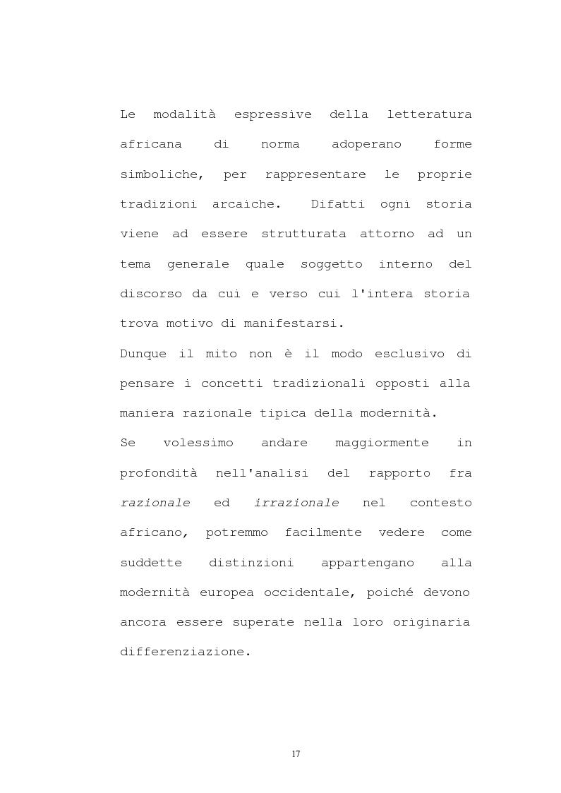 Anteprima della tesi: Il pensiero socio-politico di Tsenay Serequeberhan: un'ermeneutica della filosofia africana, Pagina 13