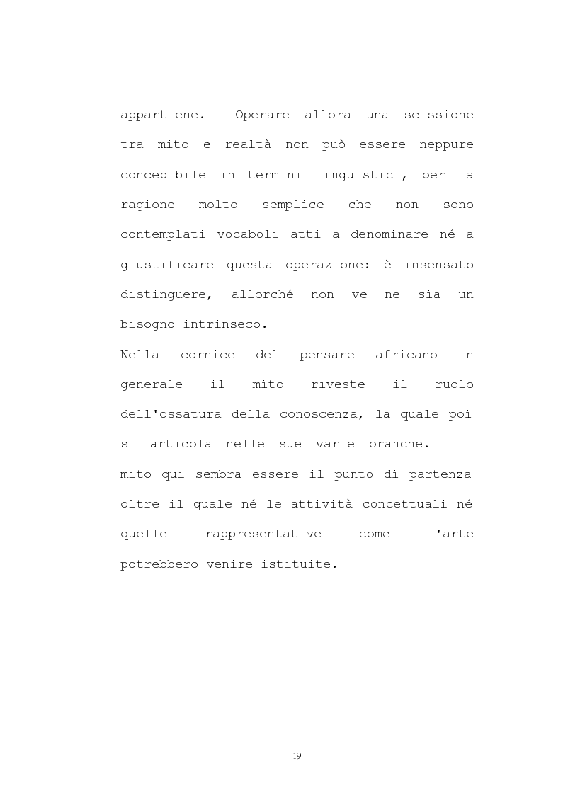 Anteprima della tesi: Il pensiero socio-politico di Tsenay Serequeberhan: un'ermeneutica della filosofia africana, Pagina 15