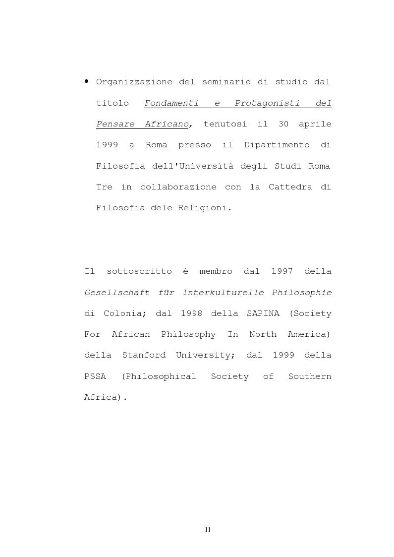 Anteprima della tesi: Il pensiero socio-politico di Tsenay Serequeberhan: un'ermeneutica della filosofia africana, Pagina 7